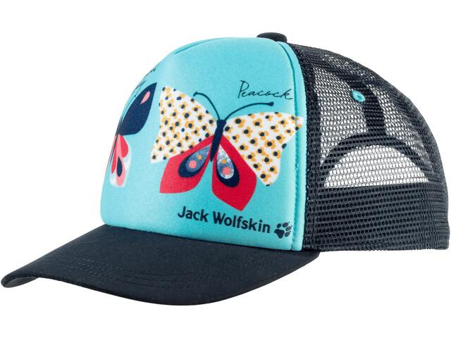 Jack Wolfskin Animal Mesh Cap Kinderen, blue capri